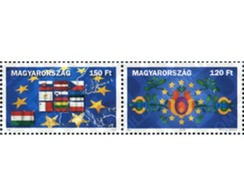 Ref. 146285 * MNH * - HUNGARY. 2004. EUROPEAN UNION AMPLIATION . AMPLIACION DE LA UNION EUROPEA - Hungary