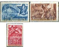 Ref. 324345 * MNH * - HUNGARY. 1951. ALLEGORY . ALEGORIA - Ongebruikt