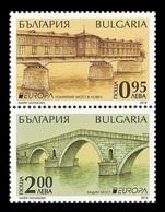 Bulgaria 2018 Mih. 5360/61 Europa-Cept. Bridges MNH ** - Ungebraucht