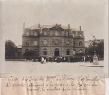 GREVE INSCRITS MARITIMES AU HAVRE PORTE DE LA BOURSE DU TRAVAIL 18*13CM Maurice-Louis BRANGER PARÍS (1874-1950) - Plaatsen