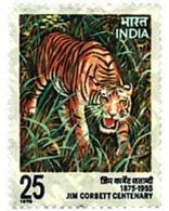 Ref. 42129 * MNH * - INDIA. 1976. TIGER . TIGRE - India