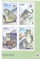 2019. Tajikistan, WWF, Snow Leopard, 4v Imperforated, Mint/** - Tadschikistan