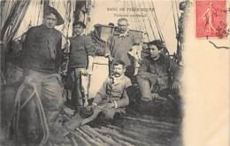 Newfoundland - Banc De Terre Neuve - Pêcheurs Au Travail - Oeuvres De Mer - Ed. HLM. - Newfoundland & Labrador