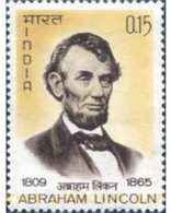 Ref. 325838 * MNH * - INDIA. 1965. ABRAHAM LINCIN 1809-1865 - 16 PRESIDENTE - Indien
