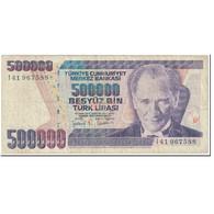 Billet, Turquie, 500,000 Lira, 1998, Old Date 1970-10-14, KM:212, TB - Turquie
