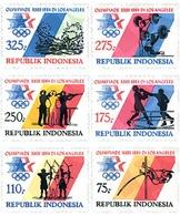 Ref. 27248 * MNH * - INDONESIA. 1984. GAMES OF THE XXIII OLYMPIAD. LOS ANGELES 1984 . 23 JUEGOS OLIMPICOS VERANO LOS ANG - Tiro Al Arco