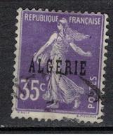 ALGERIE               N°     YVERT  18      OBLITERE       ( Ob  3/02 ) - Algerien (1924-1962)
