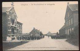 ICHTEGHEM  - DE KNECHTENSCHOOL EN OMLIGGENDE - Ichtegem