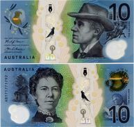 AUSTRALIA       10 Dollars       P-63       (20)17       UNC - Emissioni Governative Decimali 1966-...