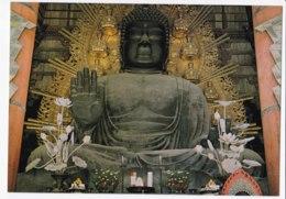 AL02 Bronze Image Of Buddha At Todaiji Temple - Japan