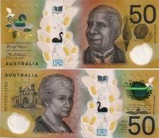 AUSTRALIA       50 Dollars       P-New       (20)18       UNC - 2005-... (Polymer)