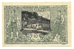 1920 - Austria - Obertrum Notgeld N30 - Austria