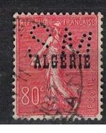ALGERIE               N°     YVERT  27      OBLITERE       ( Ob  3/04 ) - Algerien (1924-1962)