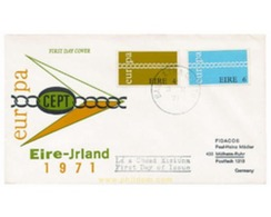 Ref. 23643 * MNH * - IRELAND. 1971. EUROPA CEPT. FRATERNITY AND COOPERATION . EUROPA CEPT. FRATERNIDAD Y COOPERACION - 1949-... Republic Of Ireland