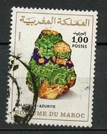 Maroc - Marokko - Morocco 1981 Y&T N°874 - Michel N°949 (o) - 1d Malachite Azurite - Morocco (1956-...)