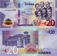 GHANA       20 Cedis       P-New        4.3.2019       UNC - Ghana
