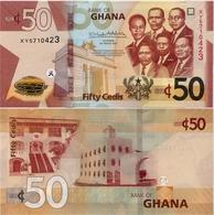 GHANA       50 Cedis       P-New        4.3.2019       UNC - Ghana