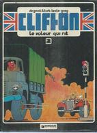 """CLIFTON  """" LE VOLEUR QUI RIT  """" -  DE GROOT / TURK -  E.O.  AOUT 1978  LOMBARD - Clifton"""