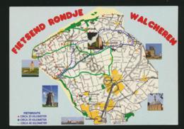 Walcheren - TOPO  - Gelopen Met Pz [AA44 0.573 - Netherlands