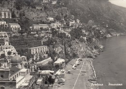 POSITANO-SALERNO-PANORAMA-CARTOLINA VERA FOTOGRAFIA NON VIAGGIATA -ANNO 1955-1960 - Salerno