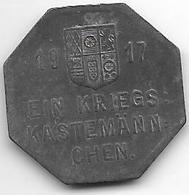 Notgeld  Mulheim 25 Pfennig 1917 Zn  9270.1 - [ 2] 1871-1918 : Empire Allemand