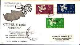 12501)F.D.C.SERIE EUROPA CEPT Un  Valore 19-3-62 - FDC