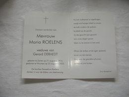 Maria Roelens  (Zarren 1914-Woumen 2003) - Images Religieuses