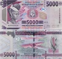 GUINEA      5000 Francs      P-49      2015      UNC - Guinea
