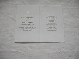 Emma Vanroose  (Zarren 1912 - Houthulst 2004) - Images Religieuses