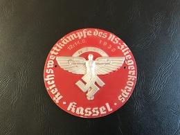 Plaque REICHSWETTKAMPFE Des NS FLIEGERKORPS - KASSEL 12-14 8 1938 - 1939-45