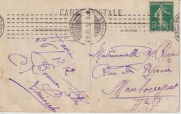 CPA 1912 De Morcenx Oblit. Chambon Pour Haute Garonne - 1877-1920: Semi Modern Period