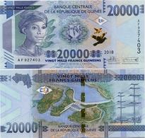 GUINEA      20,000 Francs      P-New      2018      UNC  [ 20000 ] - Guinea