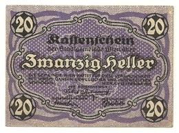 1920 - Austria - Wien Notgeld N40 - Austria
