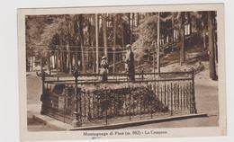 Montagnana Di Pinè  (TN)  - F.p. -  Anni '1940 - Trento
