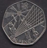 2011 50p - 1971-… : Monete Decimali