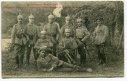 CPA - Carte Postale - France - Lunéville - Groupe D'officiers Et Sous Officiers Allemands - 1915 (SV9508) - Luneville