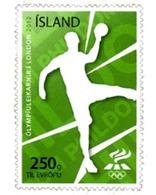 Ref. 286292 * MNH * - ICELAND. 2012. 30 JUEGOS OLIMPICOS DE VERANO LONDRES 2012 - Hand-Ball