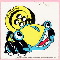 Sticker - The Walt Disney Company - 1987 - VERITAS Knopen - Auto - Autocollants