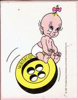 Sticker - The Walt Disney Company - 1987 - VERITAS Knopen - Baby - Autocollants