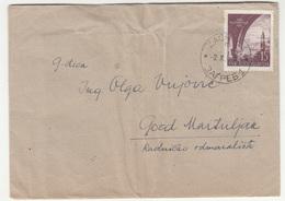 Yugoslavia Letter Cover Travelled 1952 Zagreb To Gozd Martuljek B190720 - 1945-1992 Sozialistische Föderative Republik Jugoslawien
