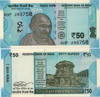 INDIA       50 Rupees       P-111       2018       UNC  [ Sign. Patel - No Letter ] - India