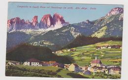 Campitello (TN) , Lotto Due Cartoline - F.p. -  Anni '1920 - Trento