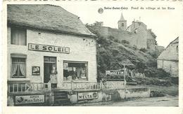 Solre-Saint-Géry Fond Du Village Et Les Rocs (Le Soleil ) Semois Mon Tabac Welta Boule D'or - Beaumont