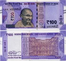 INDIA       100 Rupees       P-112       2018       UNC  [ Sign. Patel - Letter L ] - India