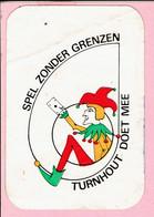 Sticker - Spel Zonder Grenzen - Turnhout Doet Mee - Autocollants