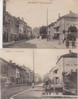 BOURGOIN : Rue Pontcottier . 2 CP . - Bourgoin