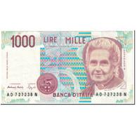 Billet, Italie, 1000 Lire, 1990, UNdated (1990), KM:114b, SUP - [ 2] 1946-… : République