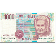 Billet, Italie, 1000 Lire, 1990, UNdated (1990), KM:114b, SUP - 1000 Lire