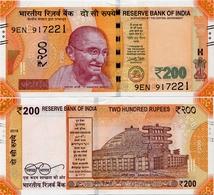 INDIA       200 Rupees       P-113       2018       UNC  [ Sign. Patel - Letter E ] - India