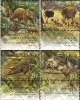 Ref. 328749 * MNH * - ISRAEL. 2005. ANIMALS OF THE BIBLE . ANIMALES DE LA BIBLIA - Reptiles & Amphibians
